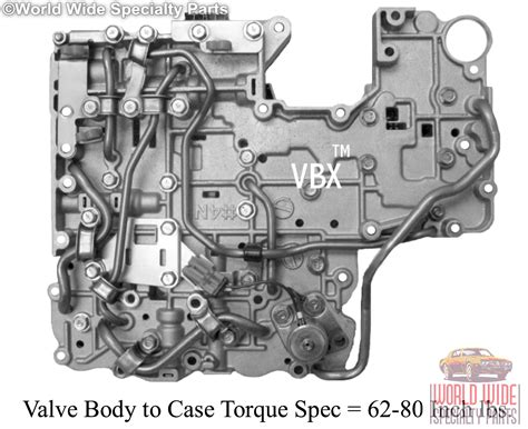 Fits Nissan Re4r01a Valve Body 1987-up (lifetime Warranty