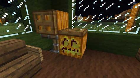 Minecraftideen Zu Kürbis Und Jackolantern  Teil 34