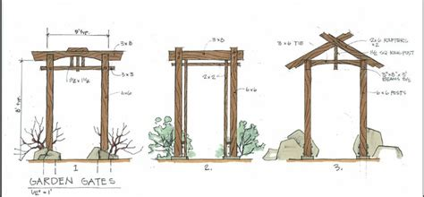 japanese gate plans gate design by karl daizen joinery