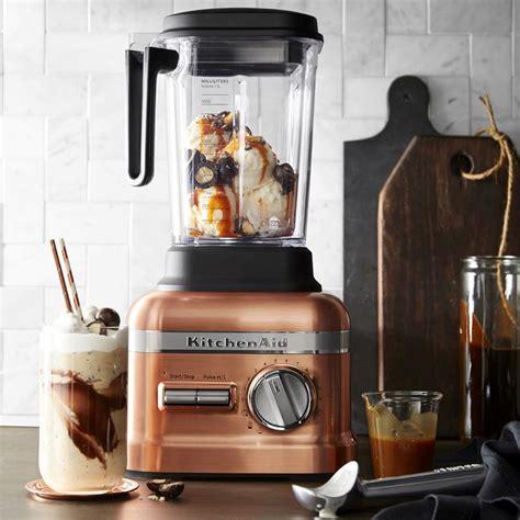 kitchenaid pro  series blender  thermal control jar copper williams sonoma