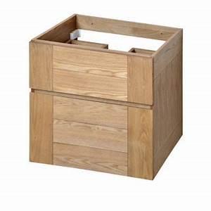 Meuble Vasque 60 : meuble sous vasque 60 x 40 ~ Teatrodelosmanantiales.com Idées de Décoration