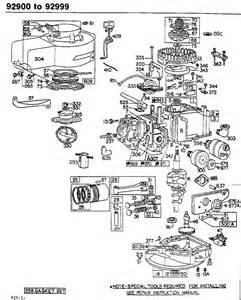 Briggs and Stratton Engine Parts Diagram