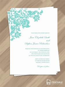 free pdf download pretty vintage border wedding invitation With borders for wedding invitations free download