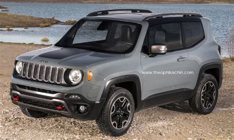 jeep lineup 2015 2015 jeep renegade 3 door rendering autoevolution