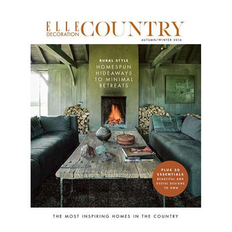 Decor Magazine Fall Winter 2016 by Decoration Country Volume 9 Decoration Uk