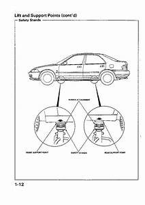 Honda Civic Service Manual 1992 - 1995