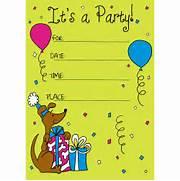 Birthday Party Invitation Template Word 20 Birthday Invitations Cards Sample Wording Printable Free Invitation Cards For Birthday Party Festival Tech Com Ice Cream Sweet Celebration Birthday Party Invitation Cards