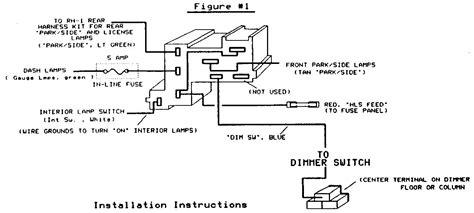 wiring diagram headlight switch wiring diagram 3 wire