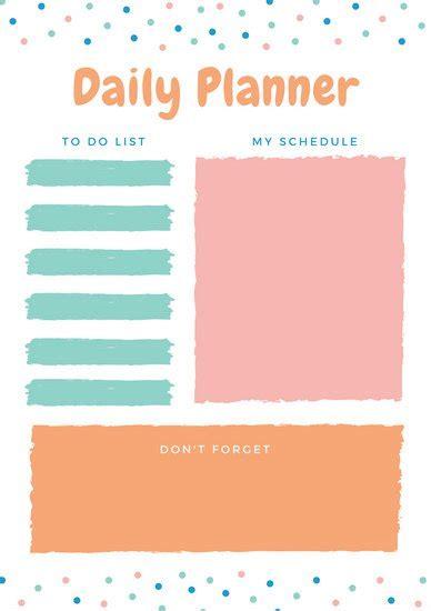 customize  planner templates  canva