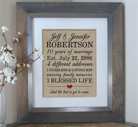 10th wedding anniversary gift 10 year anniversary gift for men 10th wedding anniversary