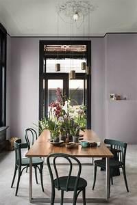 17 meilleures idees a propos de salles a manger violet sur With salle a manger mur gris