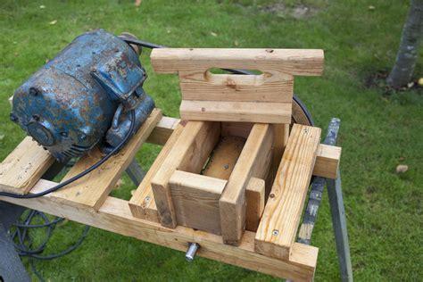 apple grinder press  kaerlighedsbamsen  lumberjocks