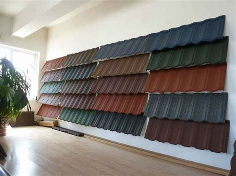 aluminium zinc steel coated roofing tile building