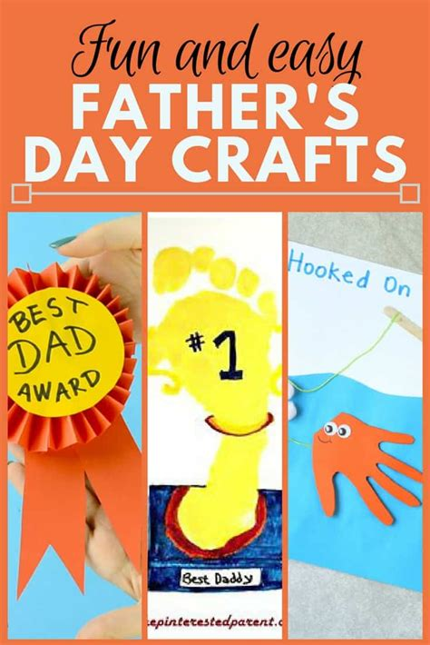 fun fathers day crafts findinista