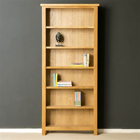 Wooden Bookcases Uk by Oak Large Bookcase Bookcase Solid Wood