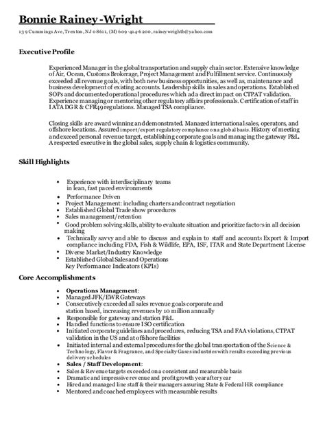 How To Wright A Resume by Resume Bonnie Rainey Wright November 2016