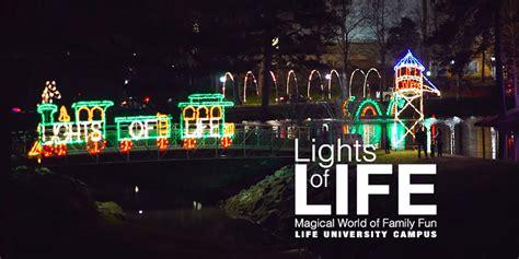 life university christmas lights 2017 luces de la vida en life university que pasa en atlanta