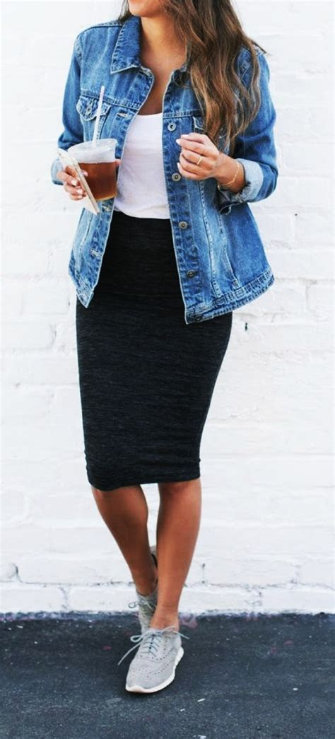 casual fall work outfits ideas