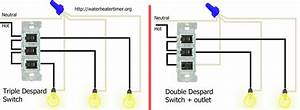 How Do I Replace A Despard Triple Light Switch With A 3