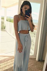Cute two piece vacation outfit. | Fashionista | Pinterest | Vacation outfits Vacation and Clothes