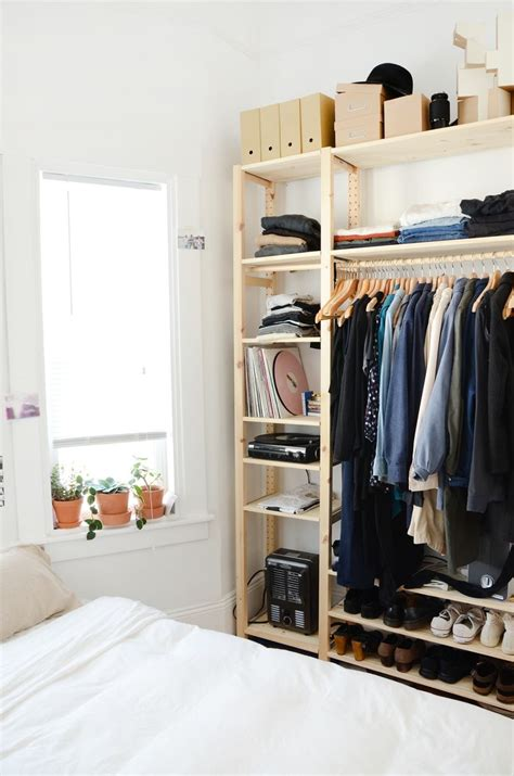 Bedroom Closet Shelving Units by 25 Best Ideas About Shelving Units On Wood