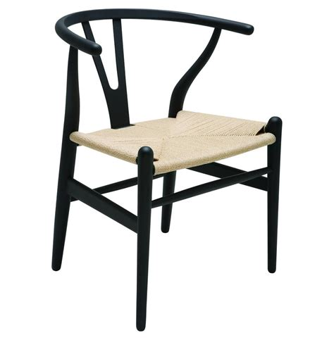 jace ming modern global bazaar rattan black dining arm