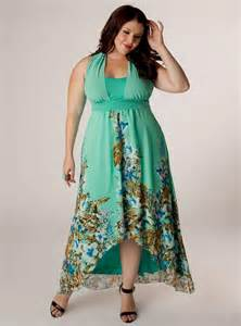 Summer Maxi Dresses Plus Size Women