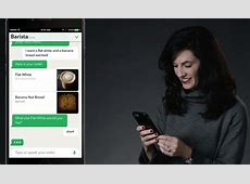 Coffee from a chatbot Starbucks unveils 'My Starbucks