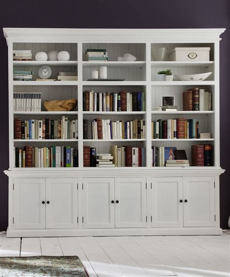 Large Bookshelf With Doors by Large Hutch Bookcase For The Home Shaker Style Doors