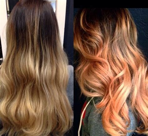 A Little Peach Never Hurt No One Awesome Hair By House Of