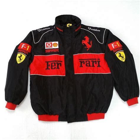 Ferrari but bass part repeats for 1 hour. Vintage Ferrari F1 Formula 1 Racing Bomber Jacket Mens 2XL Black #Ferrari #Ferrari | Jackets ...