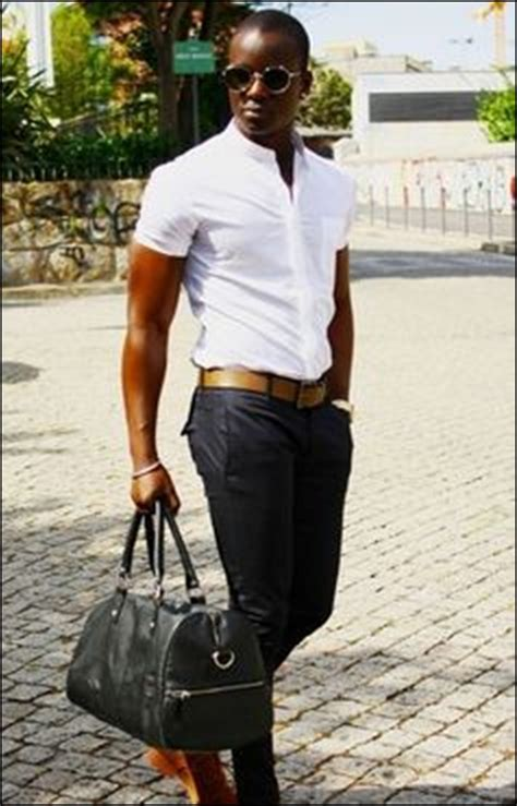40 Contemporary and Elegant Black Men Fashion Clothing