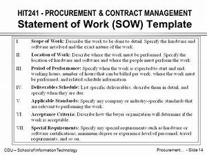 sow templates pertaminico With contractor statement of work template