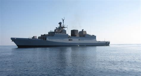 indian shipbuilder undergoing post qualification  ph