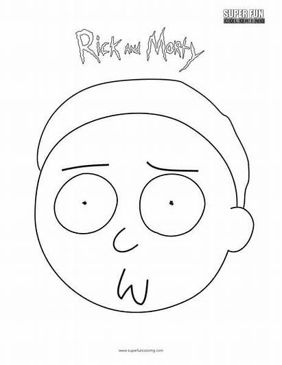 Coloring Morty Super