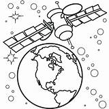 Space Coloring Pages Outer Printable sketch template