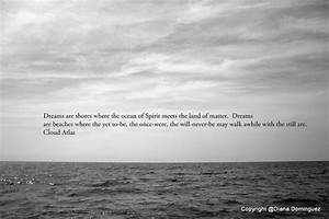 Cloud Atlas Quote - Dreams are Shores Print - Black and ...