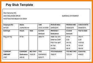 5 paycheck template microsoft word samples of paystubs With paycheck stub template in microsoft word