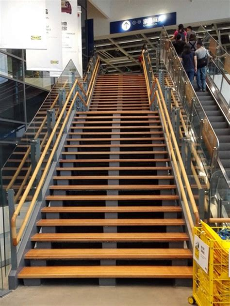 straight run commercial stairs demax arch