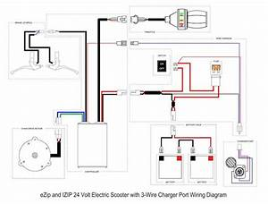 Sketch Electric Scooter Diagram Wiring For Android