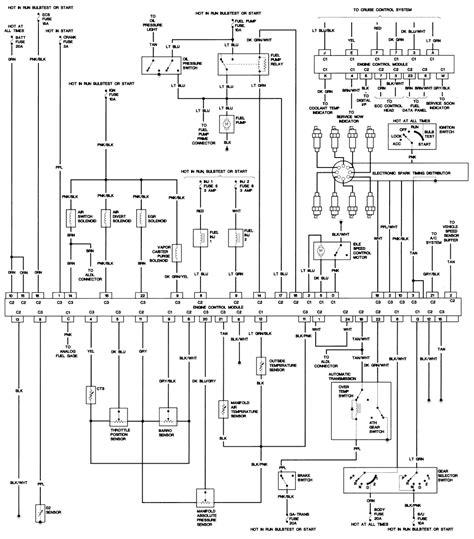 85 Cadillac Wiring Diagram by 97 Cadillac Eldorado Alternator Fuse