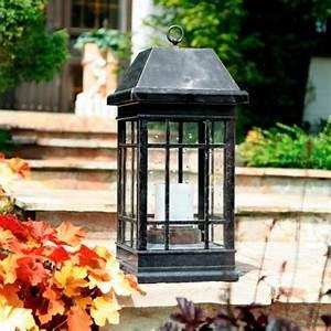 solar laterne la candela klein von gartner potschke With französischer balkon mit solar laterne garten