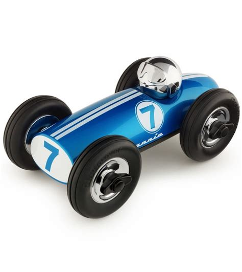 car toy blue playforever midi bonnie race car joules blue