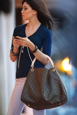 bag louis vuitton  monogram canvas artsy bag