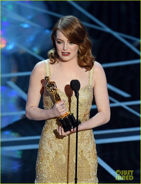 Emma Stone Wins Best Actress Oscars Watch Her