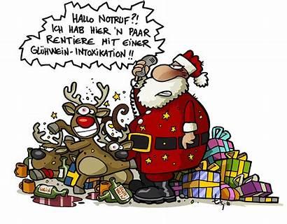 Weihnachten Weihnachtsmann Cartoon Witzig Lachen Lustig Lustige