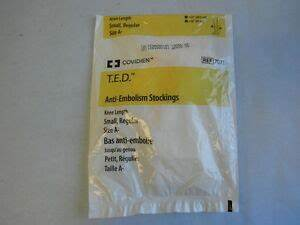 New Covidien Ted Anti Embolism Knee Length Small