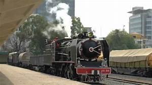 Steam Train In Cambodia