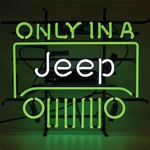 Jeep Neon Sign TP Tools & Equipment