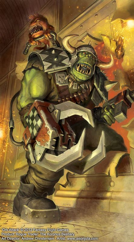ork raider image warhammer  fan group mod db